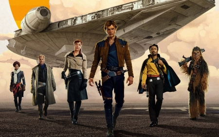 Solo A Star Wars Story - cool, Solo A Star Wars Story, entertainment, fun, movies
