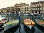 Boats in Sete, France