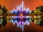 Reflections of Walt Disney Castle