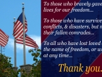Memorial Day: Thank You