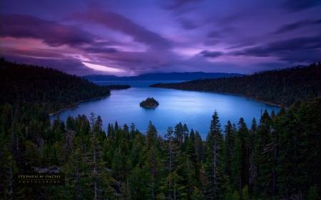 Emerald Bay Lake Tahoe California Lakes Nature