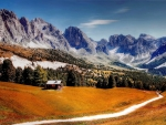 Dolomate mountains