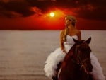 Cowgirl Bride. .