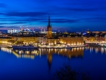 Stockholm at Blue Hour