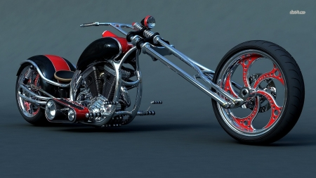 harley davidson chopper - davidson, chopper, harley, motorcycle