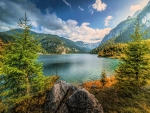 Lake in Austrian Alps