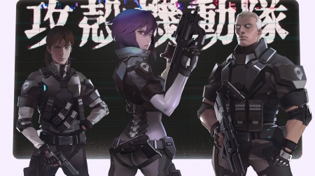 Section 9 Ghost In The Shell Anime Background Wallpapers On Desktop Nexus Image 2387241