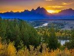 Grand Teton National Park, Snake River Overlook