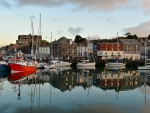 Port in Padstow, Cornwall, England