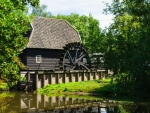 Watermill in Netherlands