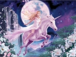 Unicorn of the Moon