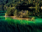 Eibsee Lake(Bavaria, Germany)