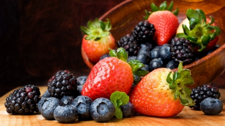 Berries - food, fruit, berries, photo