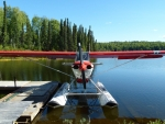 Seaplane in Lake