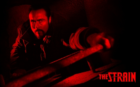 The Strain - Vasiliy Fet - Kevin Durand, survival, vampires, fiction, The Strain, tv, character, tv show, tv series, Vasiliy Fet, actor