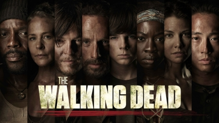 The Walking Dead - The Walking Dead, tv, zombie, show, tv show, characters, tv series, fictional, actors