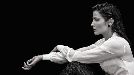 Cobie Smulders - model, How I Met Your Mother, beautiful, woman, monochrome, Jacoba Francisca Maria Smulders, actress, Cobie Smulders, Canadian, gorgeous
