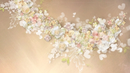 Soft Sensual Flowers Nature Background Wallpapers On