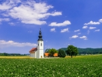 St. Jacob's Church in Hrase, Slovenia