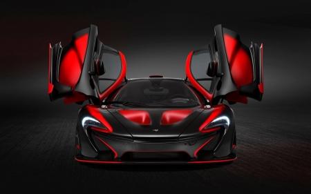 Mclaren Red And Black Mclaren Cars Background Wallpapers On Desktop Nexus Image 2389757