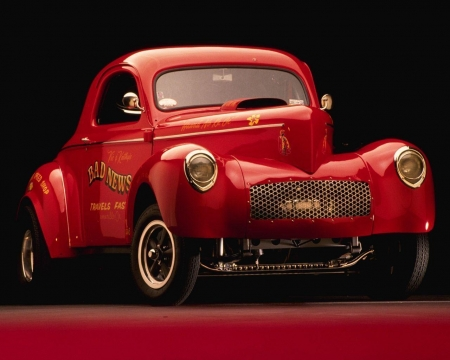 hot rod - hot, rod, coupe, car