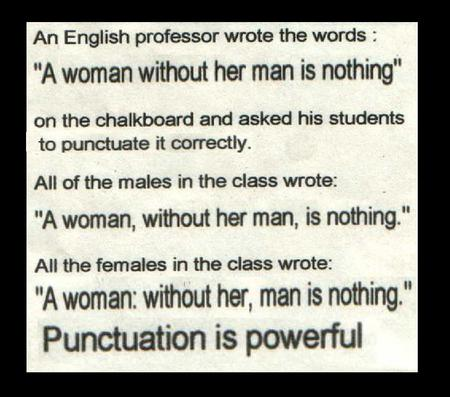 punctuation halurious!!! - powerful, words, smart, women, sweet, cool, men, letters, interesting, funny, punctuation, halurious