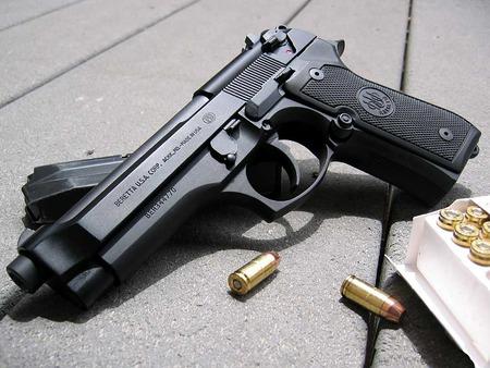pistol - gun, bollet, pistol