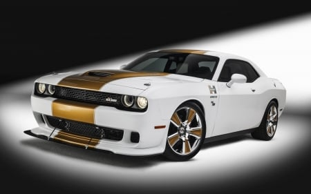 Dodge Challenger - Hellcat - cars, Dodge Challenger, white cars, vehicles, dodge