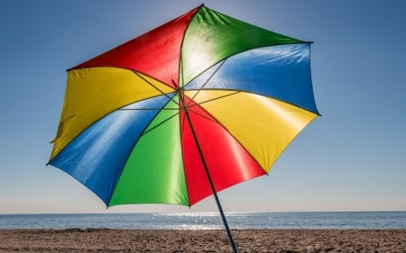 Beach Umbrella Photography Amp Abstract Background