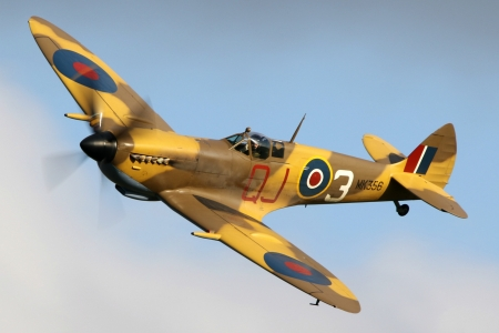 WW2 Spitfire - military, aircraft, fighter, spitfire