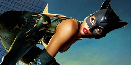 Halle Berry As Catwoman Actresses People Background Wallpapers