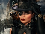 Steampunk Hat Eye Patch