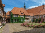 Monastery in Luneburg, Germany