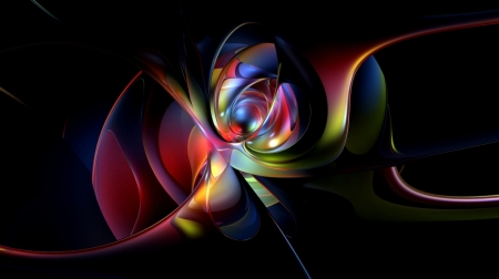 Abstract Design - computer technology, art, beautiful, abstract, illustration, artwork, painting, wide screen, computer graphics