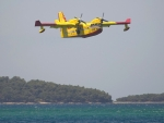 Seaplane in Croatia
