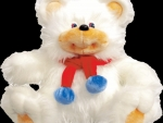 White Red Blue Bear