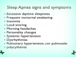 Sleep Apnea Signs And Symptoms