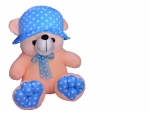 Blue hat bear