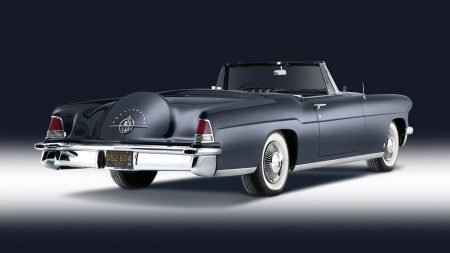 lincoln continental - continental, convertible, lincoln, car