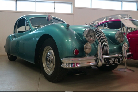 1953 Jaguar XK140 - xk140, xk, barossa, south australia, sports car, convertible, jaguar