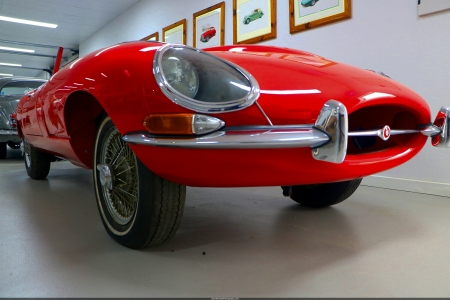 Jaguar E-Type Series I - classic, jaguar, british, jag, sports car, e-type