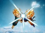 dragon ball trunks and son goten