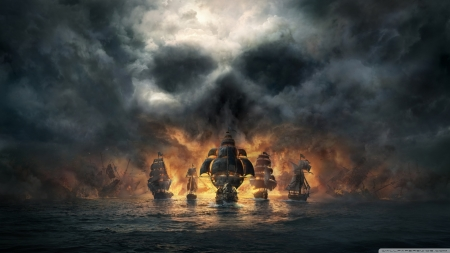 skull and bones - games, videogames, movie, play