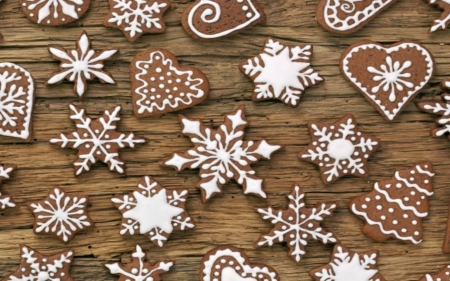 Christmas Cookies Photography Abstract Background Wallpapers On