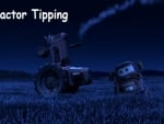 Halloween Tractor Tipping