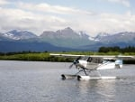 Seaplane in the Lake