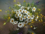Bouquet with Daisies
