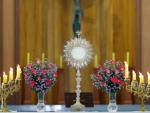 Monstrance on Altar