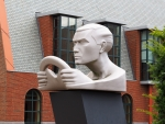 Sculpture by Car Museum, Netherlands