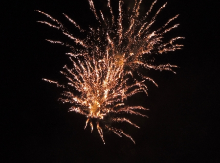 Fireworks--Abstract - Fireworks, Sky, Abstract, Photography, July